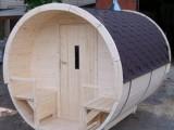 Finská sudová sauna
