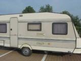 Pěkný velký karavan Hobby 510