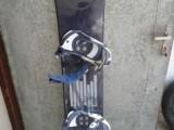 Zánovní snowboard Evol, vázání Nidecker, boty