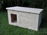 Nová zateplená bouda pro psa