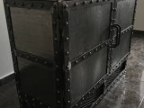 Celokovová industriální skříňka