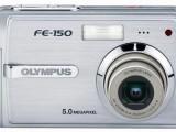 Olympus FE-150 Zoom 1x XD karta 512mb 2x baterka, jako nové
