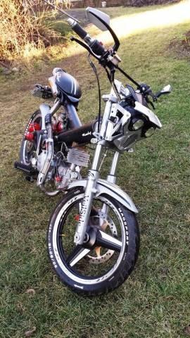 Motocykl 125cc