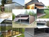 Najlacnejšie plechové garáže, voliery pre psov GRÁTIS dovoz celá SR