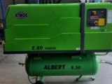 Zánovní šroubový kompresor Atmos E.80 Vario