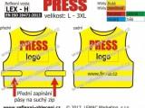 Reflexní vesta PRESS – LEX