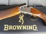 BROKOVNICE BROWNING B525 Sporter - ZÁNOVNÍ ZBRAŇ