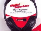 Digitální stereo sluchátka – superbasová   9001309