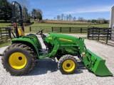 John Deere 3032 e traktor