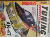 17 kusů Tuning magazine + Car a hifi + Autohifi
