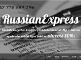 EXPRESS PŘEKLAD Z/DO RUŠTINY