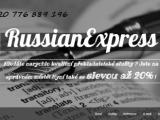 Expres překlad z/do ruštiny