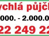 Rychlá půjčka 30.000. - 2.000.000.