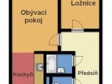 Pronájem bytu 2+kk v Kolíně