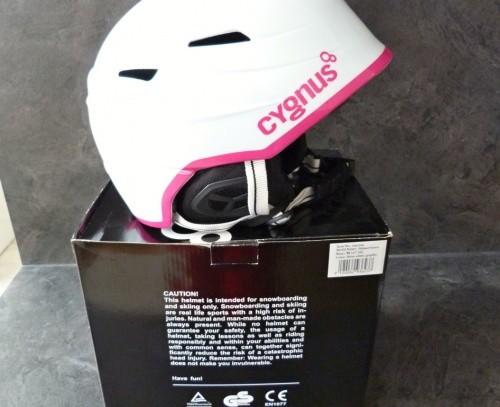 Dámská/dívčí lyžařská helma CYGNUS vel.M 57/58 cm 100% stav