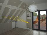 Sálavé vytápění bez elektřiny, přimo ze stěny - panely Soffio