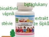 Vitamíny, minerály, betaglukany v jednom produktu.