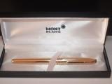 Zlaté dárkové pero Mont Blanc