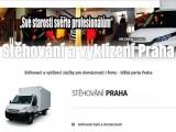 Stěhování, vyklízení, těžká parta Praha