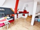 Prodej moderního mezonetového bytu 2+kk 64m2  Ulice Křenová, Brno – centrum