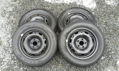 Letní kola ŠKODA FABIA 165/70 R14 – sada 4ks pneu s disky