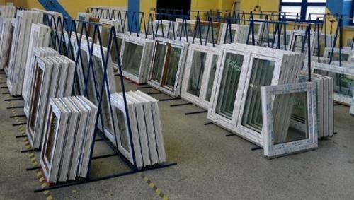 Plastové okno 80×80 bílé
