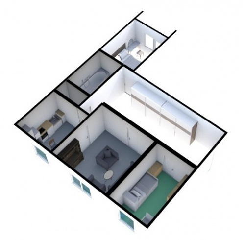 Prodej Byt 3+1, Nový Jičín, Jičínská