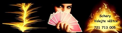 Diskrétní výklad karet s kartářkou Schery