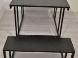 Set stůl a židle ocel proti štěnicím ČR ubytovny