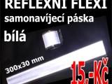 Reflexní pásky samonavíjecí 30x3 cm