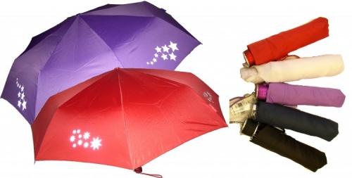 Deštník s reflexníni prvky – hvězdný roj 2