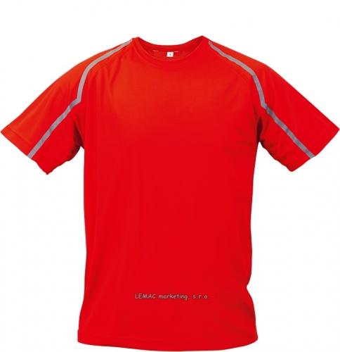 Funkční triko fits červené