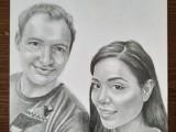 kresba portretu