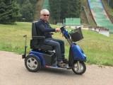 Elektrické invalidní skútry pro seniory