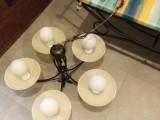 5.ramenný lustr + 5x nástěnné svítidlo