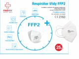 Respirátor, respirační rouška, polomaska třídy KN95 (třídy FFP2)